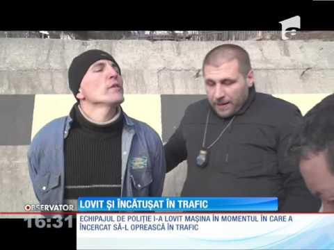 O urmărire s-a încheiat cu un scandal neaşteptat, în judeţul Suceava