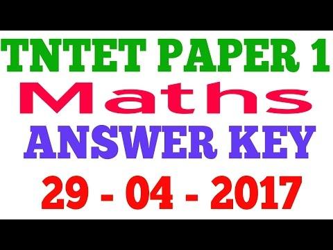 Tntet 2012 Answer Key Pdf