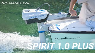 Introducing Spirit 1.0 Plus | 3HP Electric Outboard