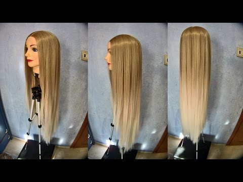 SOLD: Blonde Ombre Futura Lace-Front-Top Wig