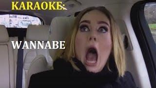 Adele & James Corden cantan Wannabe Spice Girls