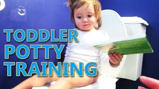 BABY POTTY TRAINING EXPERIENCE!
