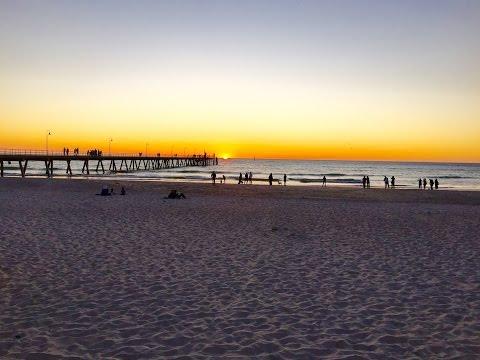 Glenelg Beach Slideshow - oldest European settlement on mainland South Australia