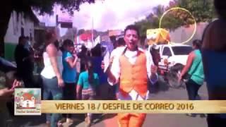 VIERNES 18, DESFILE DE CORREO USULUTAN 2016