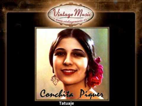 Conchita Piquer - Tatuaje (VintageMusic.es)