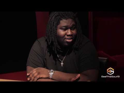 Young Chop Breaking down a beat live on camera.