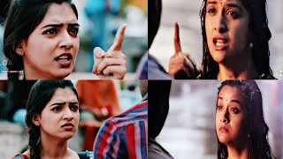 Who is Best in Expression?|Nazriya|Keerthi suresh|Emotional dialogue