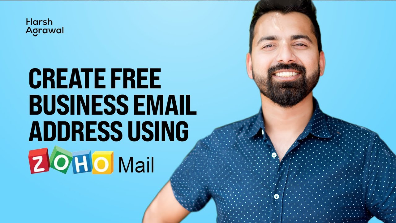 How To Create Free Business Email Address Using ZohoMail in 10 minutes or less