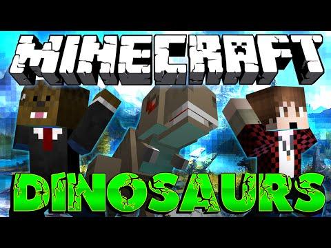 "Minecraft: Modded Dinosaur Survival Let's Play #1 ""Dino Fairy"" w/ Jerome & Mitch! (Season 3)"