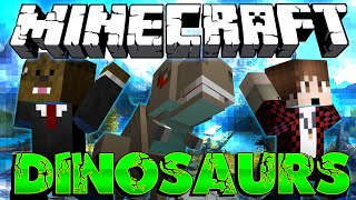 Minecraft: Modded Dinosaur Survival Let