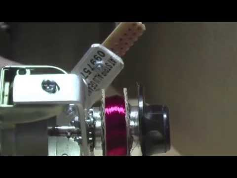 DIY  Coil Winder From A Fishing Reel