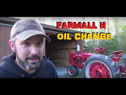 Farmall H Oil Change & Getting Ready For Spring