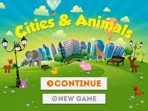 Cities & Animals Hidden Object Game. The Best Game For Children