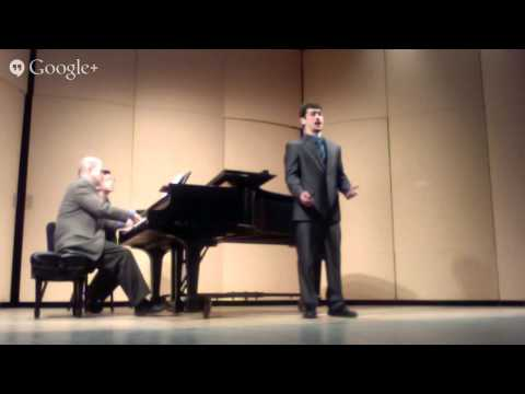 Alex Hunt's Senior Recital