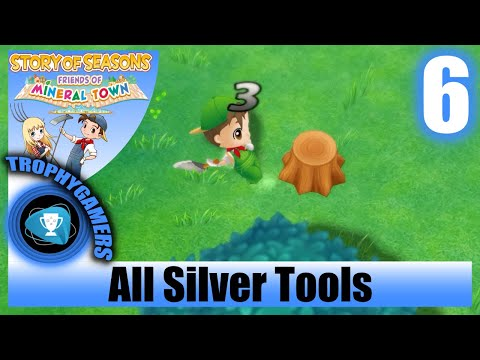 Story Of Seasons Friends Of Mineral Town Upgrade All Tools To Silver No Commentary Walkthrough Youtube