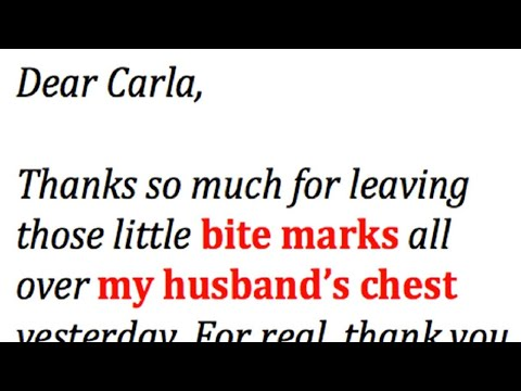 angry messages for my husband