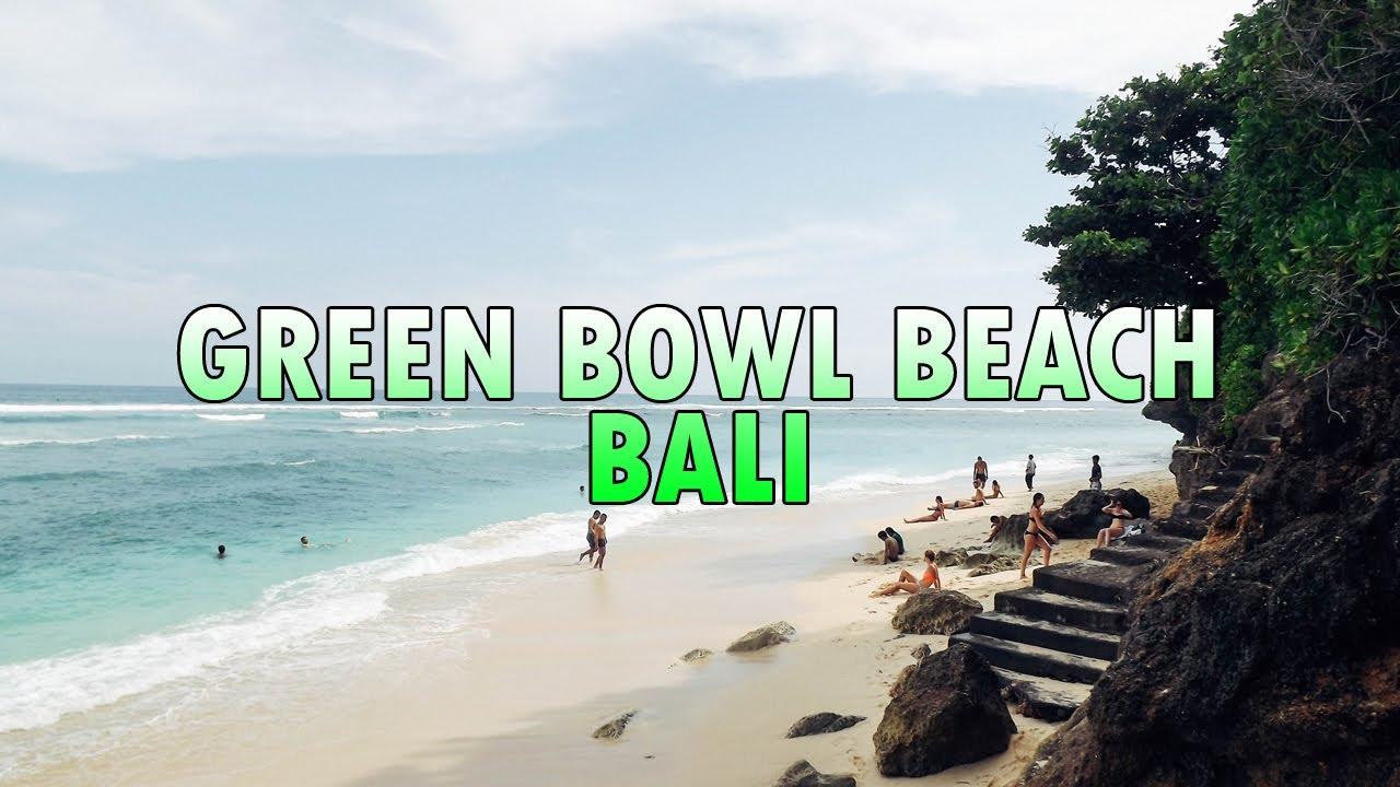 Green Bowl Beach.Green Bowl Beach Secret Beach In Southern Of Bali Youtube