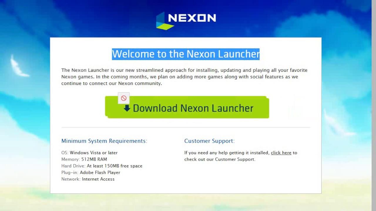 nexon installer download