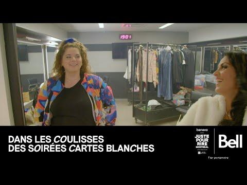 Bell présente DANS LES COULISSES DES SOIRÉES CARTES BLANCHES - Bloopers