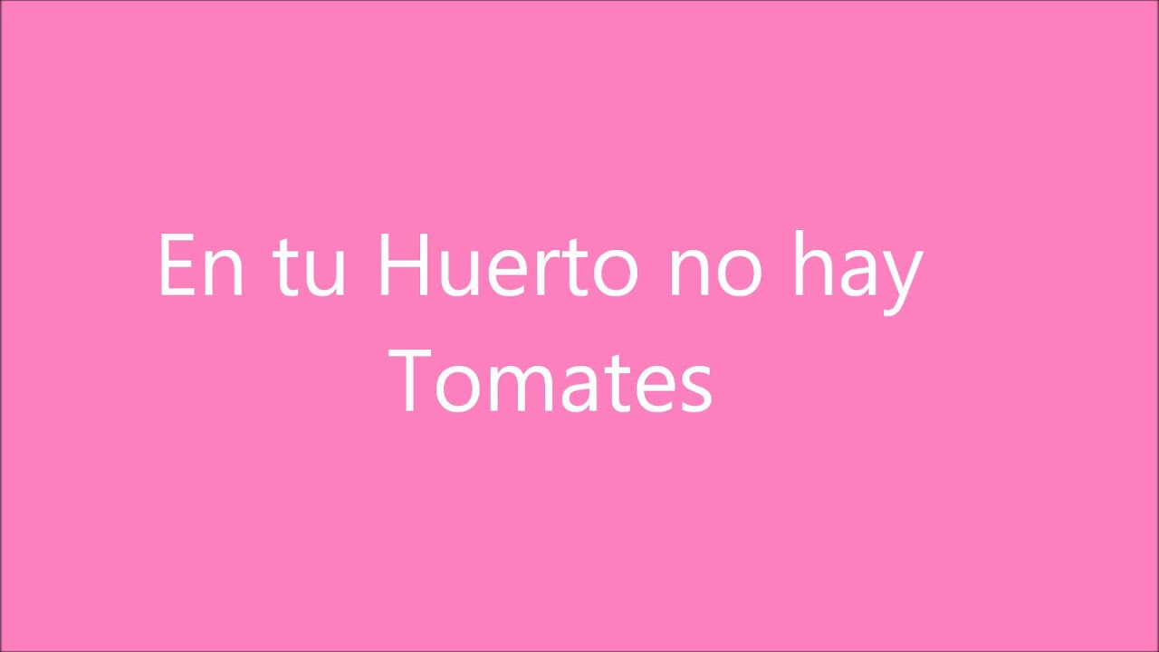 Canciones en ingles con frases en espa youtube for En ingles frases