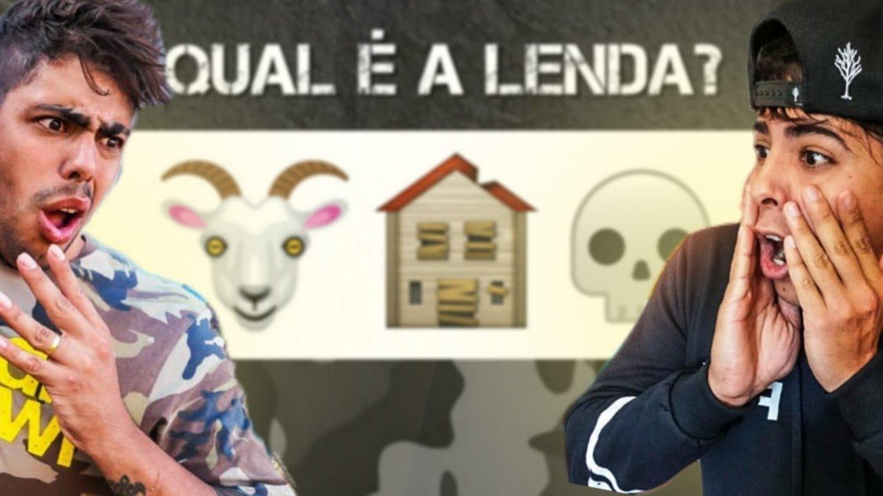ADIVINHE QUAL É A LENDA COM EMOJIS #1 * Caçadores de Lendas