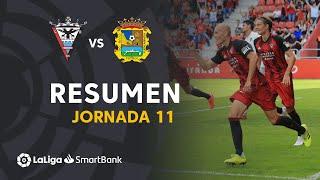 Resumen de CD Mirandés vs CF Fuenlabrada (2-1)
