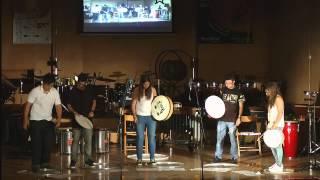 Ensemble de alumnos con Amy Salsgiver [PERCUFEST 2012]