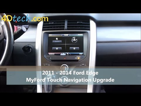 Add Factory Navigation to MyFord Touch | 2011 - 2014 Ford Edge