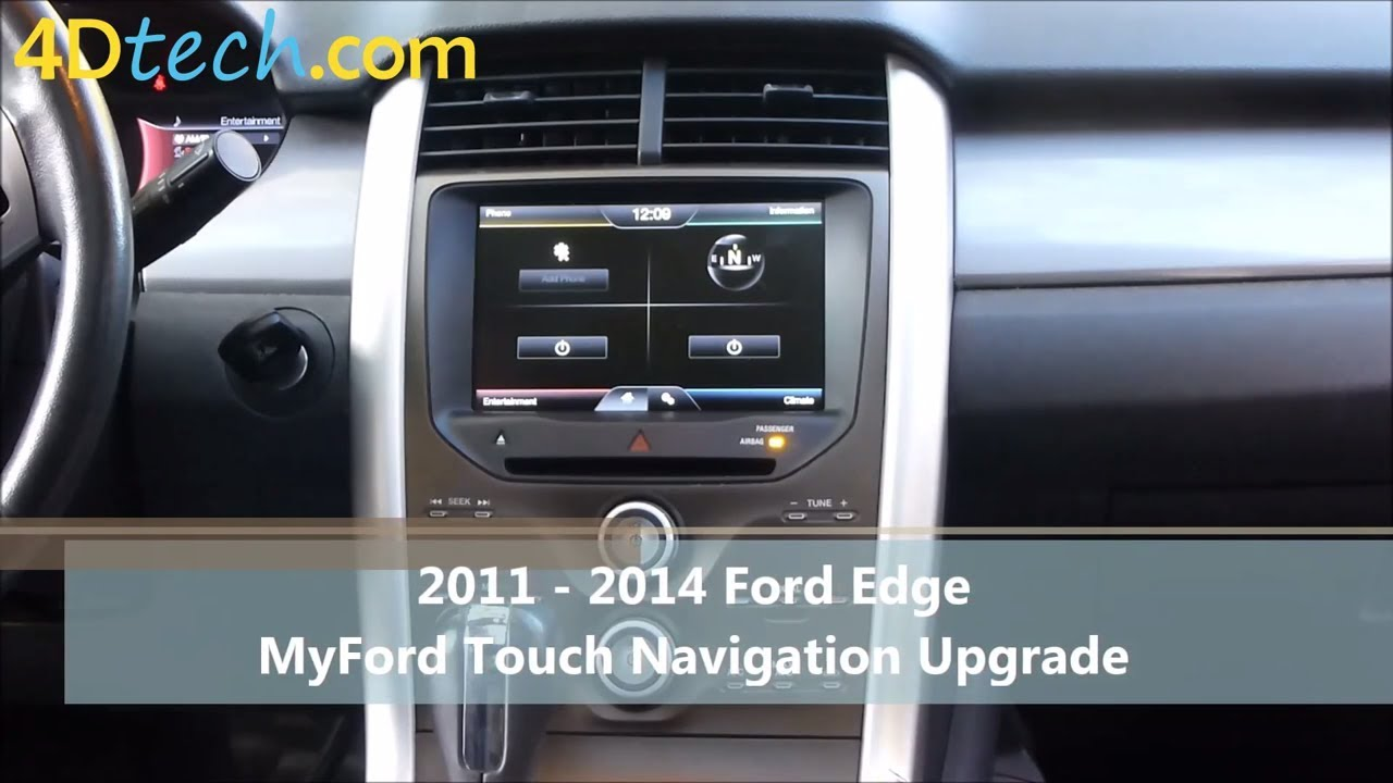 Add Factory Navigation To Myford Touch   Ford Edge