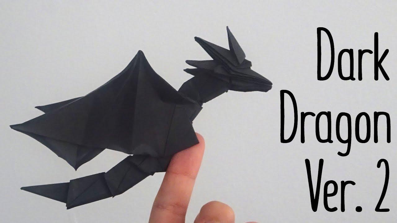 Origami Dark Dragon Ver 02 Anh Dao Diagram Youtube Rh Com Darkness 20 Fiery