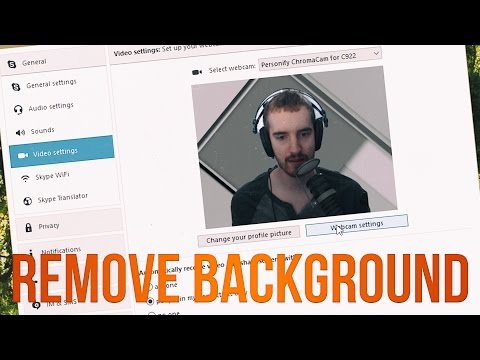 How to Remove Background w/ Logitech C922 in XSplit, Skype & Hangouts - 동영상