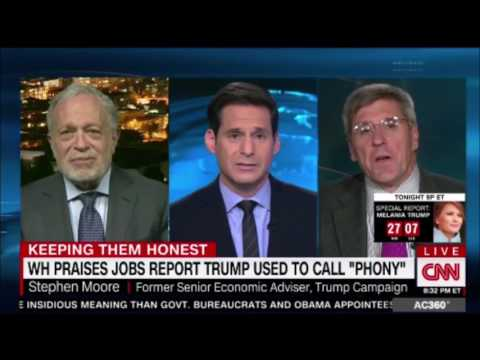 WH praises jobs report that Donald Trump called Phony #jobsreport #trump #whitehouse