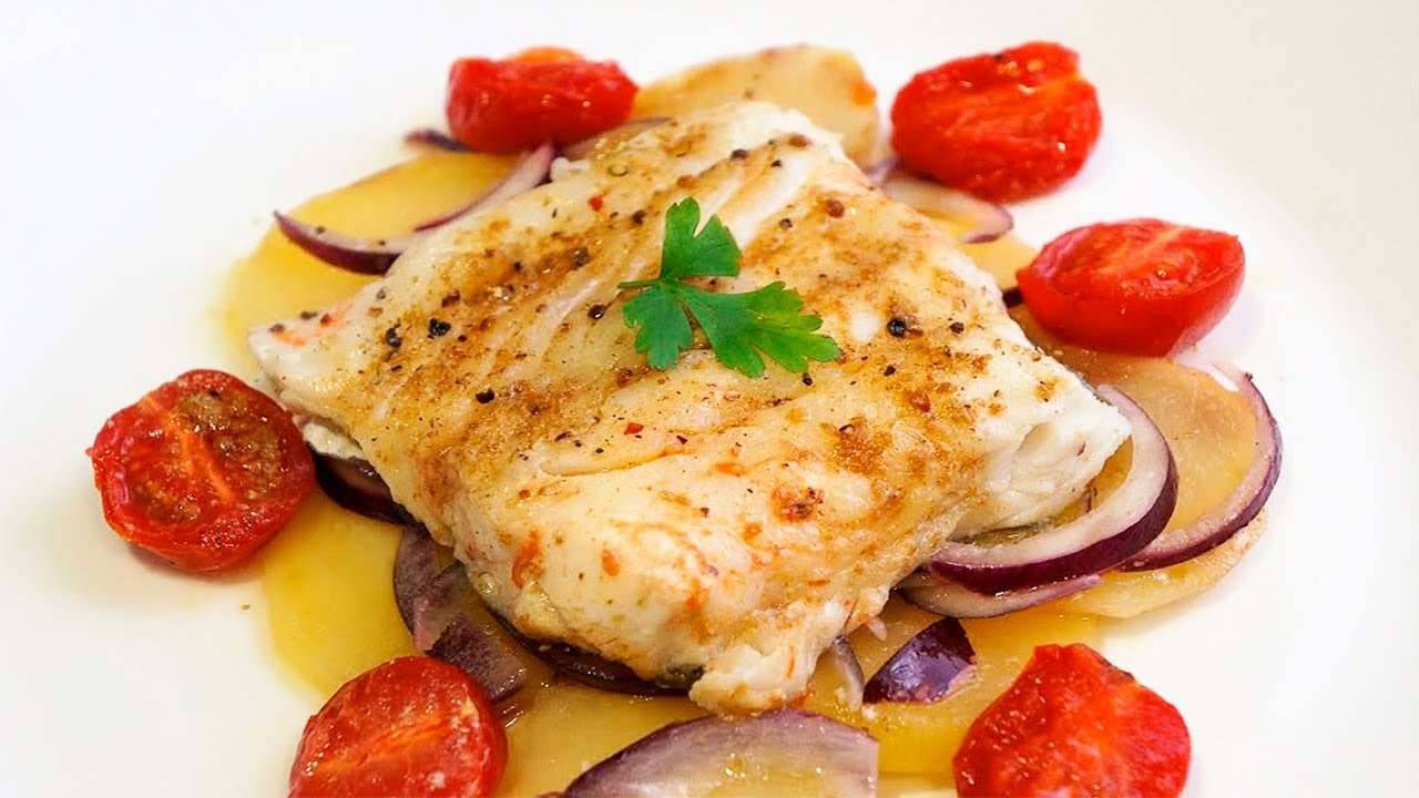 Bacalao al papillote receta f cil de pescado al horno for Como cocinar bacalao al horno