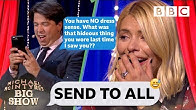 Holly Willoughby mortified as Michael McIntyre TRASHES her contacts 😂 - Send To All