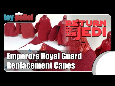 Fix it guide - Emperors Royal Guard replacement cape