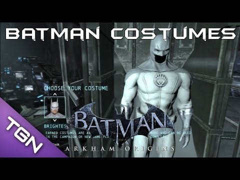 Batman: Arkham Origins - All current DLC Costume Skins