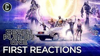 First Ready Player One Reactions - Spielberg