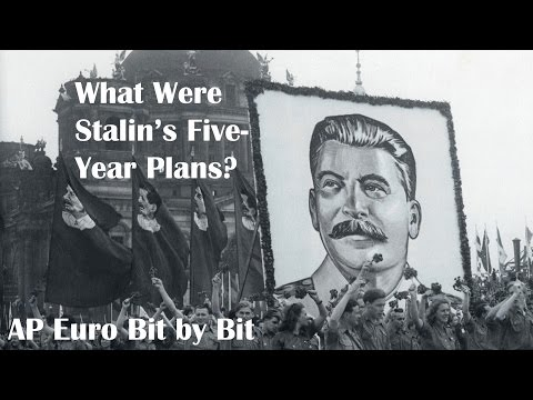 what impact did stalins first five Russia under lenin and stalin1921-1939 i during the first two five year but stalin did not produce these documents as proof, and his real motive.