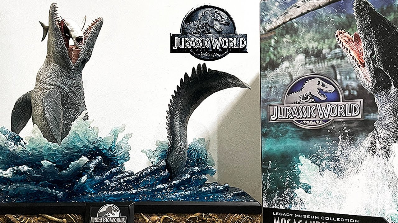 UNBOXING THE GREATEST MOSASAURUS! Jurassic World Legacy Museum Collection Mosasaurus!