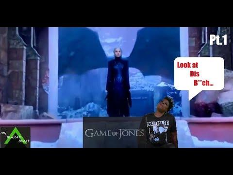 Game of Thrones Season 8 Episode 6 w/Leslie Jones pt 1 (Finale Tweets) Try  Not To Laugh Challenge