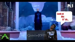 Game of Thrones Season 8 Episode 6 w/Leslie Jones pt.1 (Finale Tweets) Try Not To Laugh Challenge