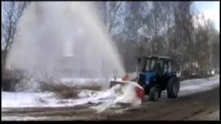 Снегоочиститель роторный ЕМ-800 (01)(02)