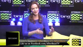 "Grey's Anatomy After Show w/ Sarah Drew Season 9 Episode 13 "" Bad Blood "" 