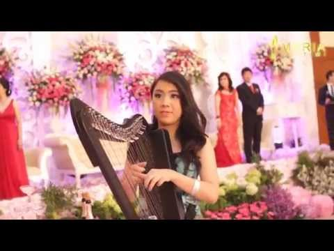 Special Wedding Entrance - Lavender's Blue Dilly Dilly (Cinderella) - Cover by Maria Pratiwi