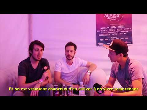 Interview Vicetone by Guettapen at Summer Sound Festival 2017