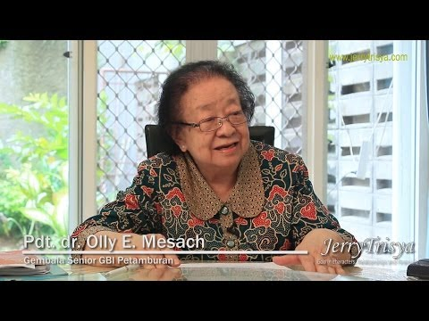 Interview Pdt. Dr. Olly Mesach On JerryTrisya Blog
