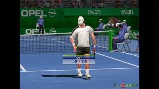 Virtua Tennis 2 - Gameplay Dreamcast HD 720P