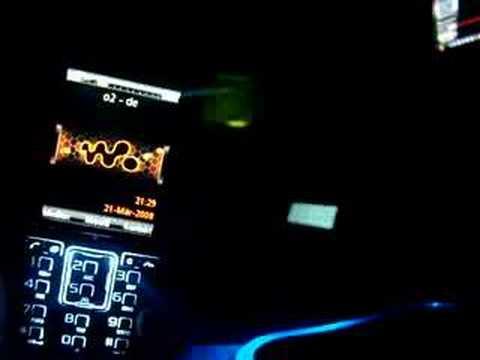 Sony Ericsson K850i Shake Theme