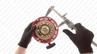 Стартер ручний в зборі м/б, бензогенератора 168F/170F 6,5/7Hp mod:B DIGGER...