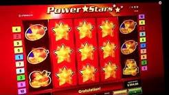Power Stars - 4 Euro - 3 Sterne Freispiele